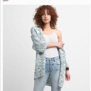 Gap heavier weight cotton oversized cardigan